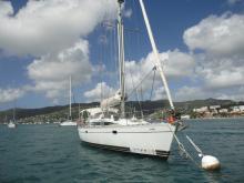 Kirie Feeling 446 :  Martinique mooring